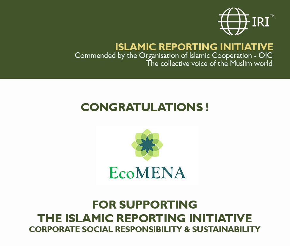 IRI welcomes EcoMENA