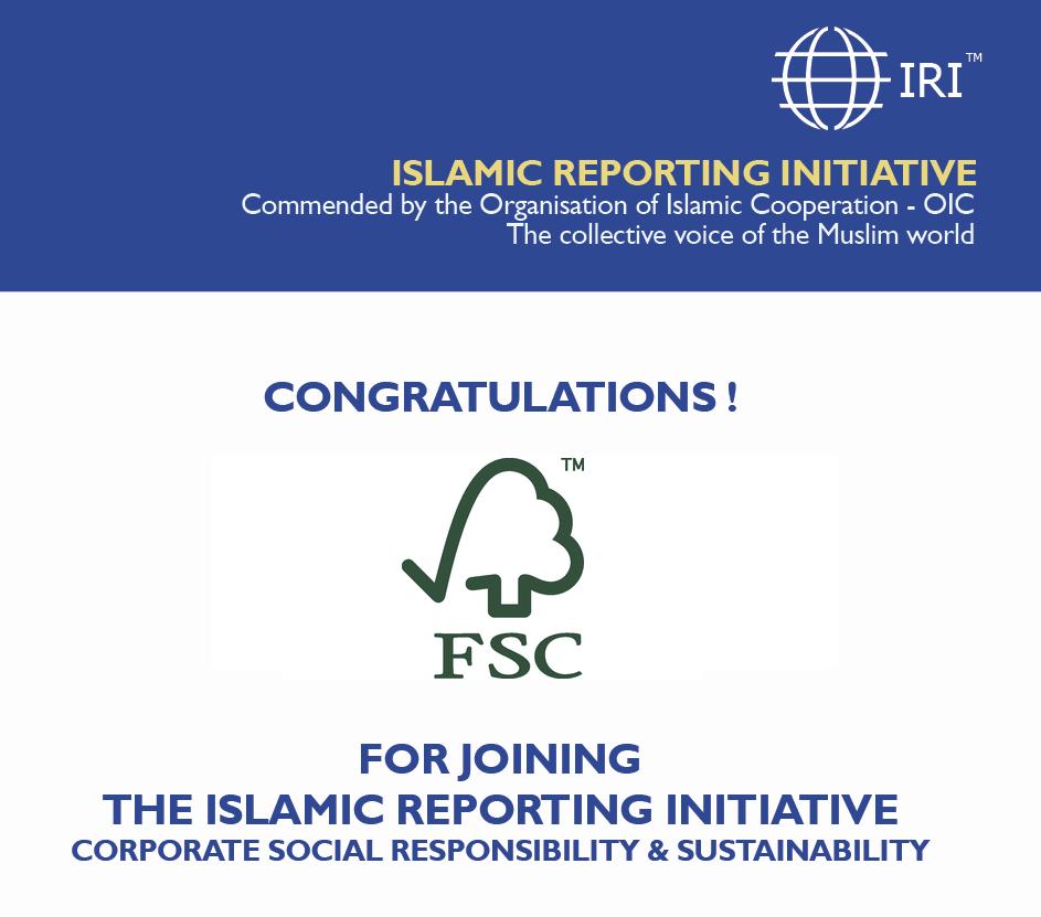 IRI welcomes FSC malaysia