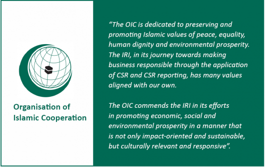 OIC endorsement IRI