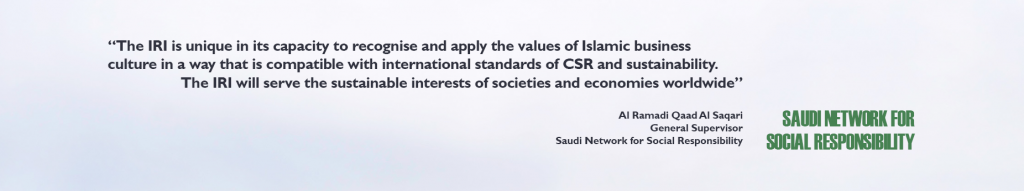 Saudi CSR & ISLAMIC REPORTING INITIATIVE