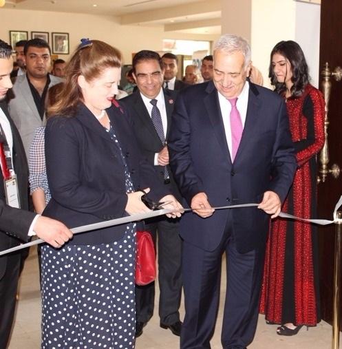 Opening ceremony hosted by Dr Yacoub Nasereddin and ambassador Heidi Venamore