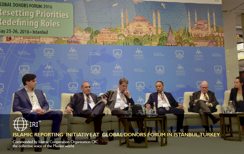 Daan Elffers, at Global Donors Forum in Istanbul, Turkey