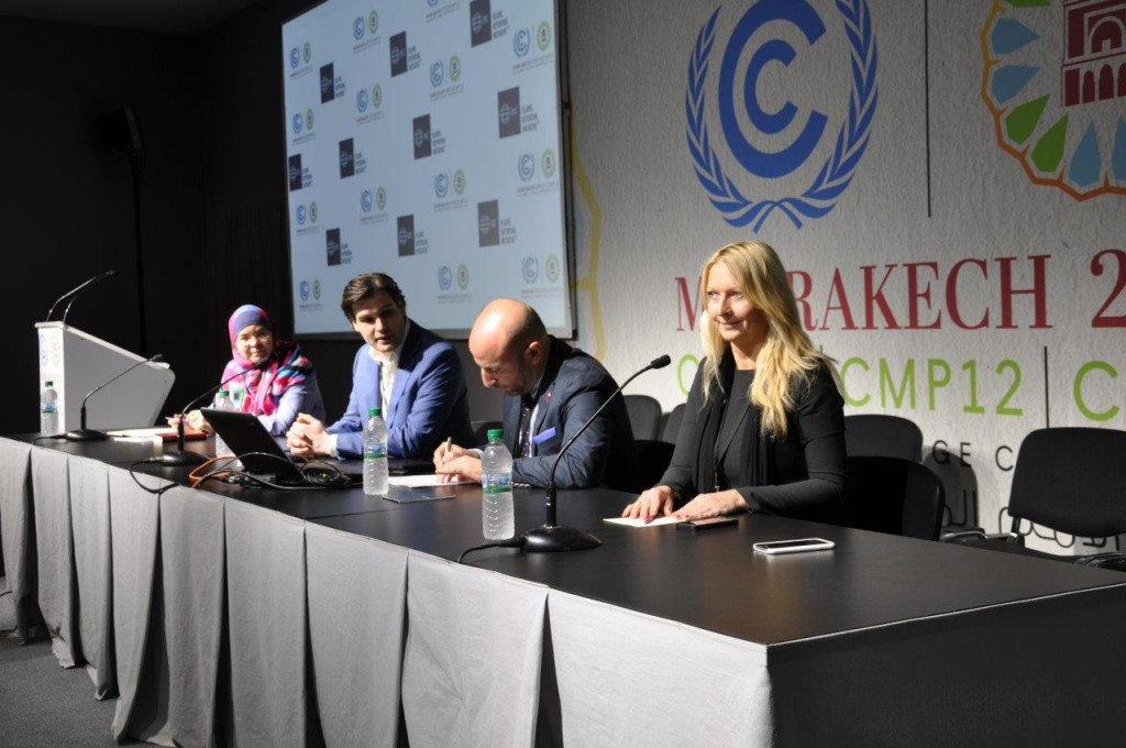 The Islamic Reporting Initiative Roundtable Meeting at COP22
